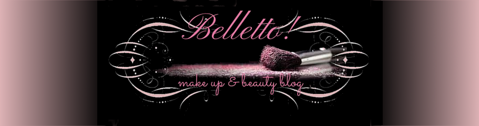 Belletto! make-up and beauty blog