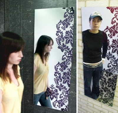 Cara Membuat Cermin Bermotif