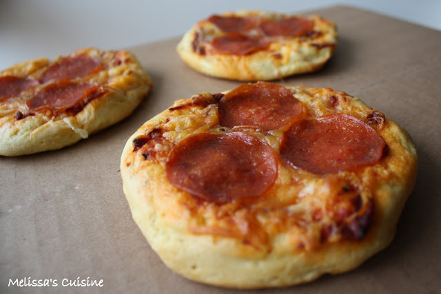 Melissa's Cuisine: Pizza Sliders