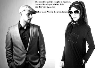 Maher Zain With His Wife And Daughter http://forevermaherzain.blogspot.com/
