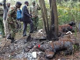 AIR CRASH IN NGONG FOREST,NAIROBI.