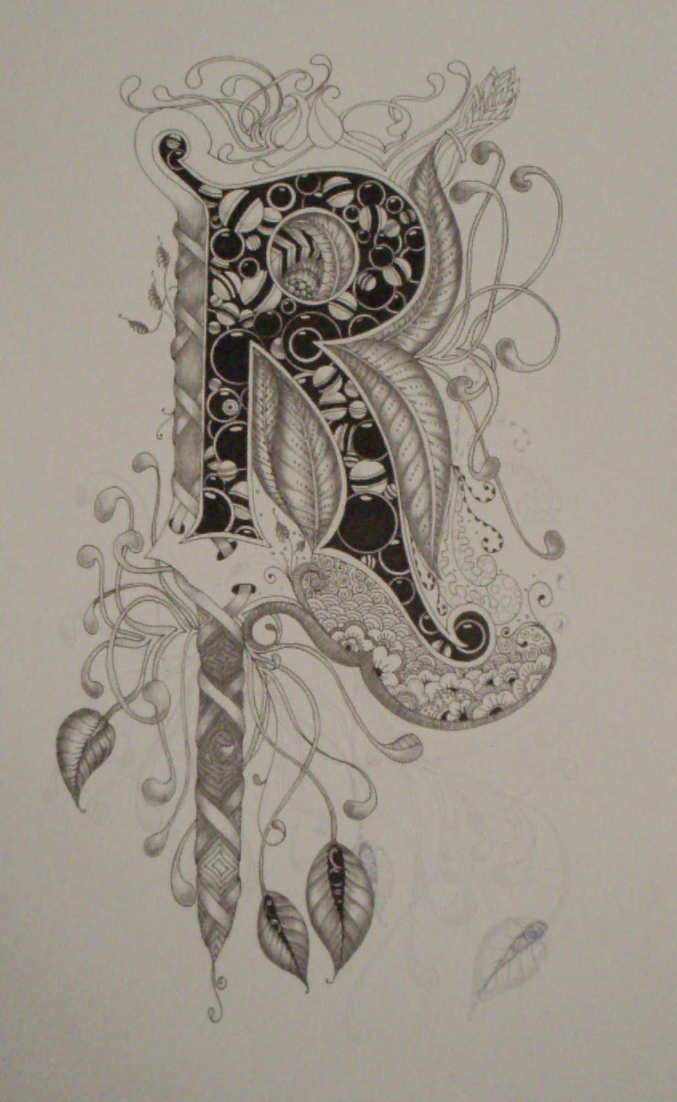 "Letter R Art More on the letter ""r"""