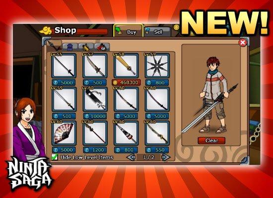 Super Post de Ninja Saga [Informacion]
