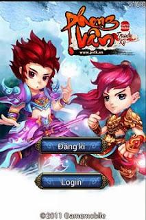 Phong Vân Truyền Kỳ - Game Nhập Vai Online