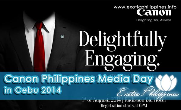 Canon Philippines Media Day in Cebu 2014