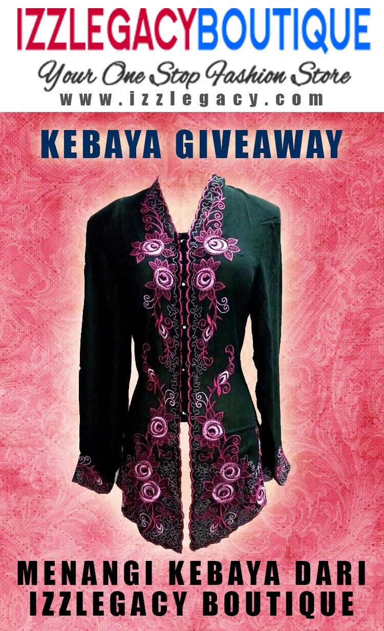 http://izzlegacy.com/giveaway-kebaya/kebaya-giveaway-izzlegacy-boutique