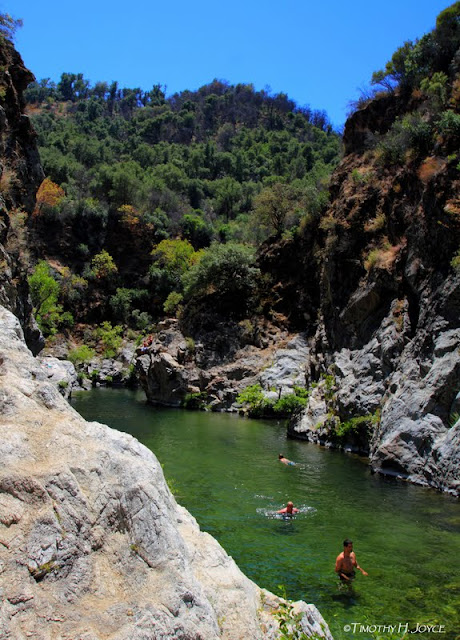 Swimming Holes Of California Arroyo Seco The Gorge