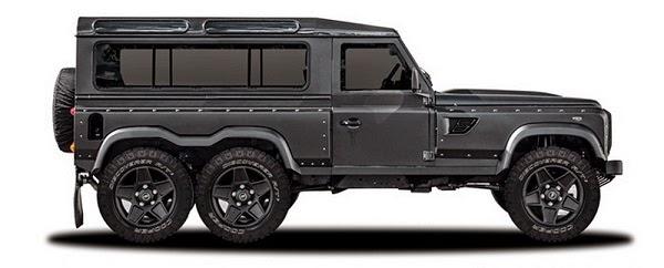 Land Rover Defender 6x6 by Kahn Design