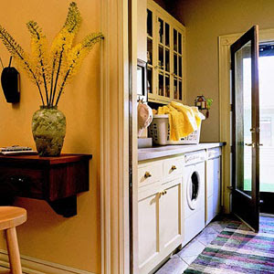 Maple Leaves & Sycamore Trees: Laundry Rooms