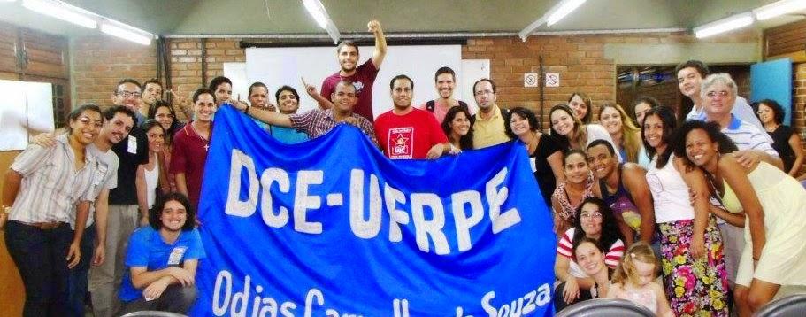 """DCE - UFRPE - Odijas Carvalho de Souza - Gestão 2013-2014 """"Mais Vale O Que será"""""""