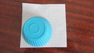 используем формочку для кексов