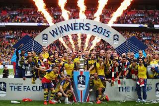 FUTBOL INGLATERRA - El Arsenal golea y se lleva la FA Cup