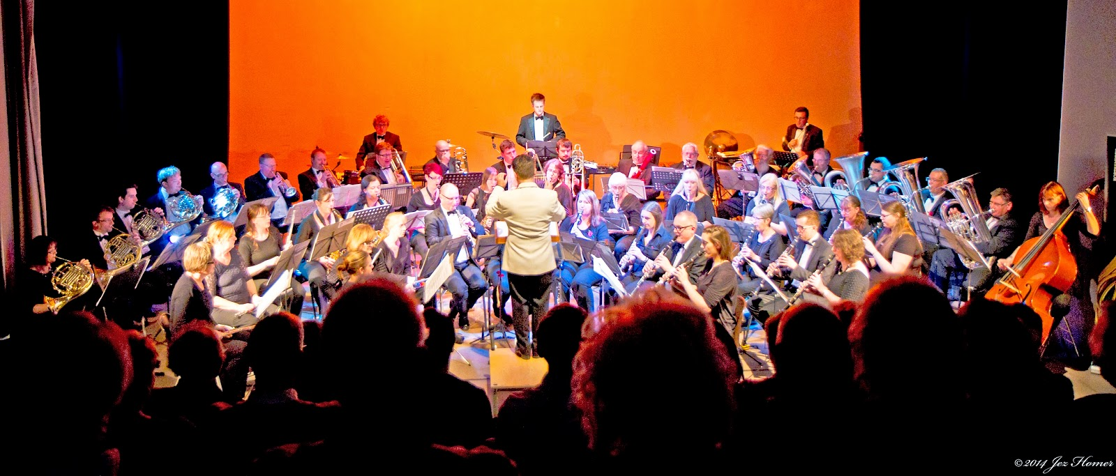 Northampton Concert Band performing in November 2014
