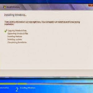 Cara Instal Windows 7 dengan Flasdisk