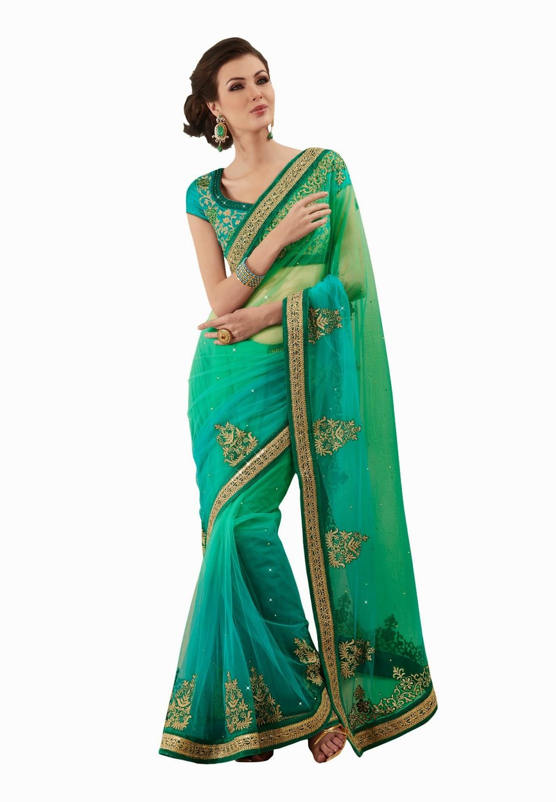Designer sarees online anarkali suits online indian kurtis - Online shopping usa ...
