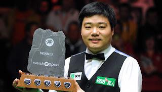 Дин порадовал своим снукером на Welsh Open миллиардную армию китайских болельщиков и не только их
