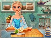 Frozen Elsa Apple Pie