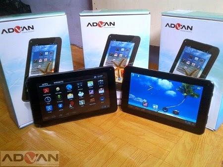 Daftar Harga Tablet Advan Terbaru 2015