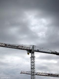 cloudy cranes