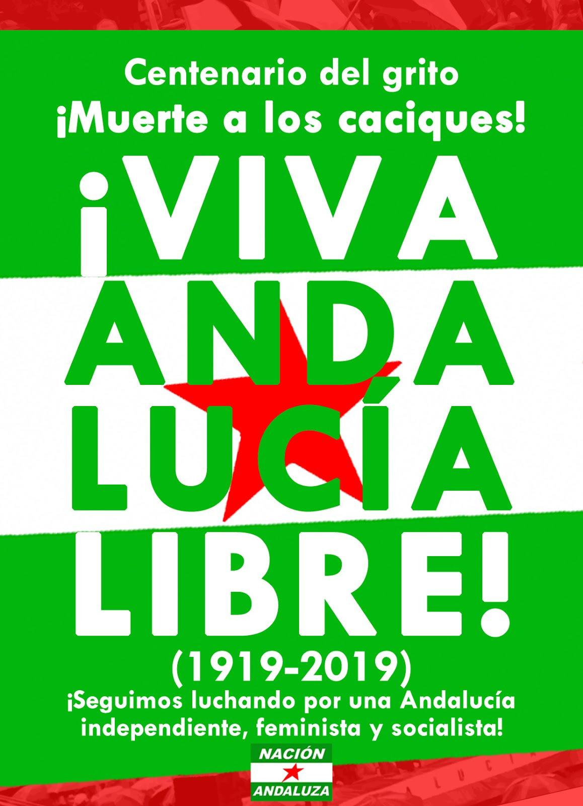 Centenario del grito ¡Viva Andalucía libre! (1919-2019)