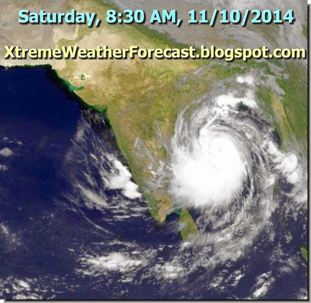 cyclone hudhud update 11102014 very strong winds to