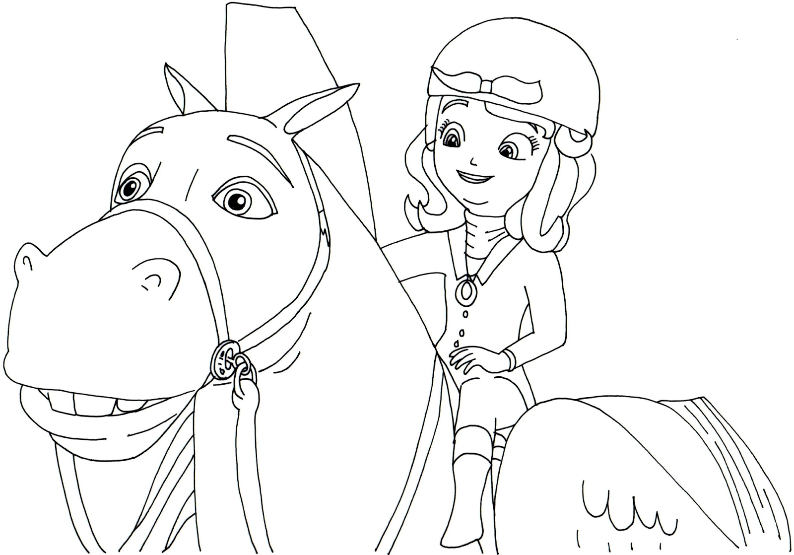 sofia the first coloring pages minimus and sofia the first coloring