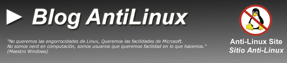 ► Blog AntiLinux