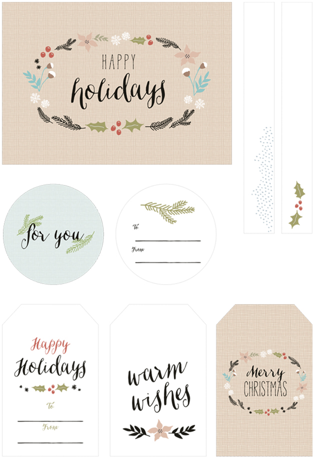 photo regarding Printable Holiday Tags known as Cost-free PRINTABLE Trip Present TAGS - Oh Therefore Gorgeous Weblog