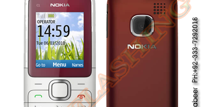 Nokia C1-01 RM-607 Version 6.7 Urdu Latest Flash Files