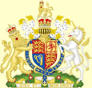 The Arms of Dominion of H. M. Queen Elizabeth II.
