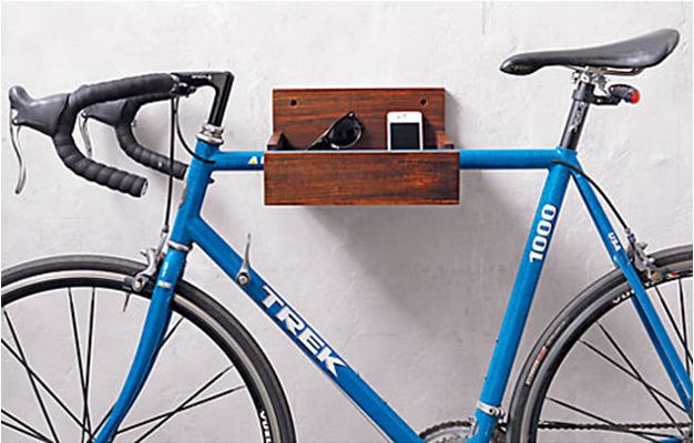 How To Hang Bike On Wall roomations: bicycle storage solutions