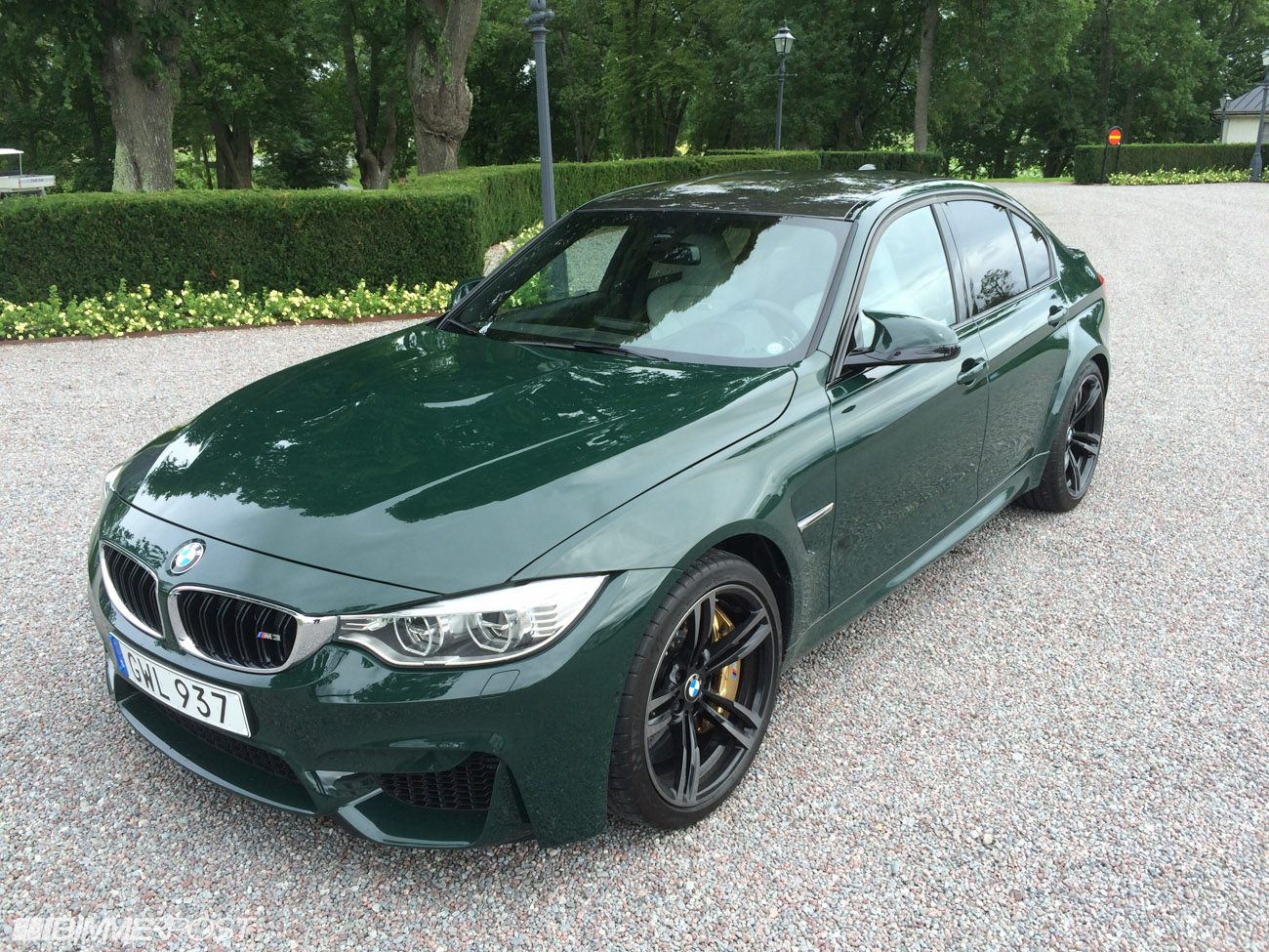 Bmw Oxford Green Paint