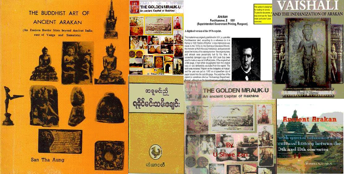 Ebooks About Arakan in English, Arakanese and Myanmar
