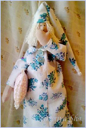 кукла Тильда - сплюх Сеня.