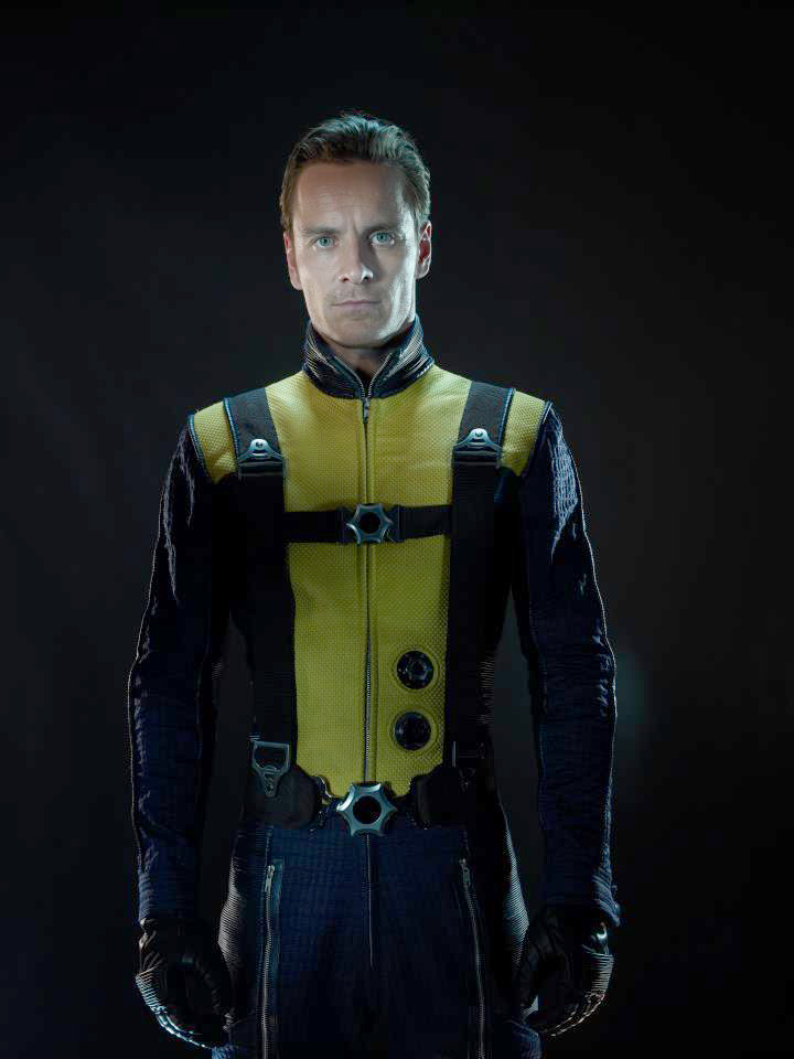Xcite  X-Men First Class  Unseen Promo Pics  amp  Sequel News X Men First Class Magneto And Charles