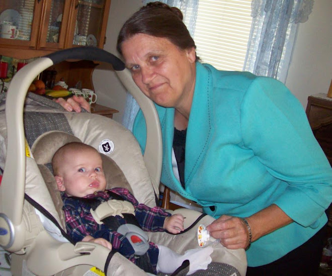 My sis and her grandbaby, Elizabeth, she is a doll!