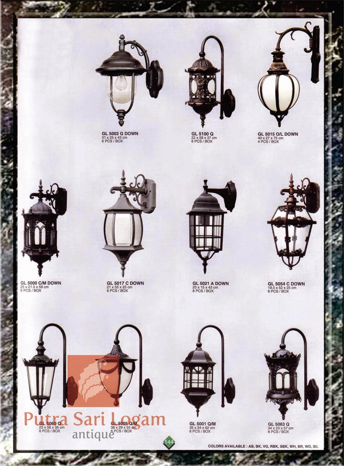 Lampu Eropa antik