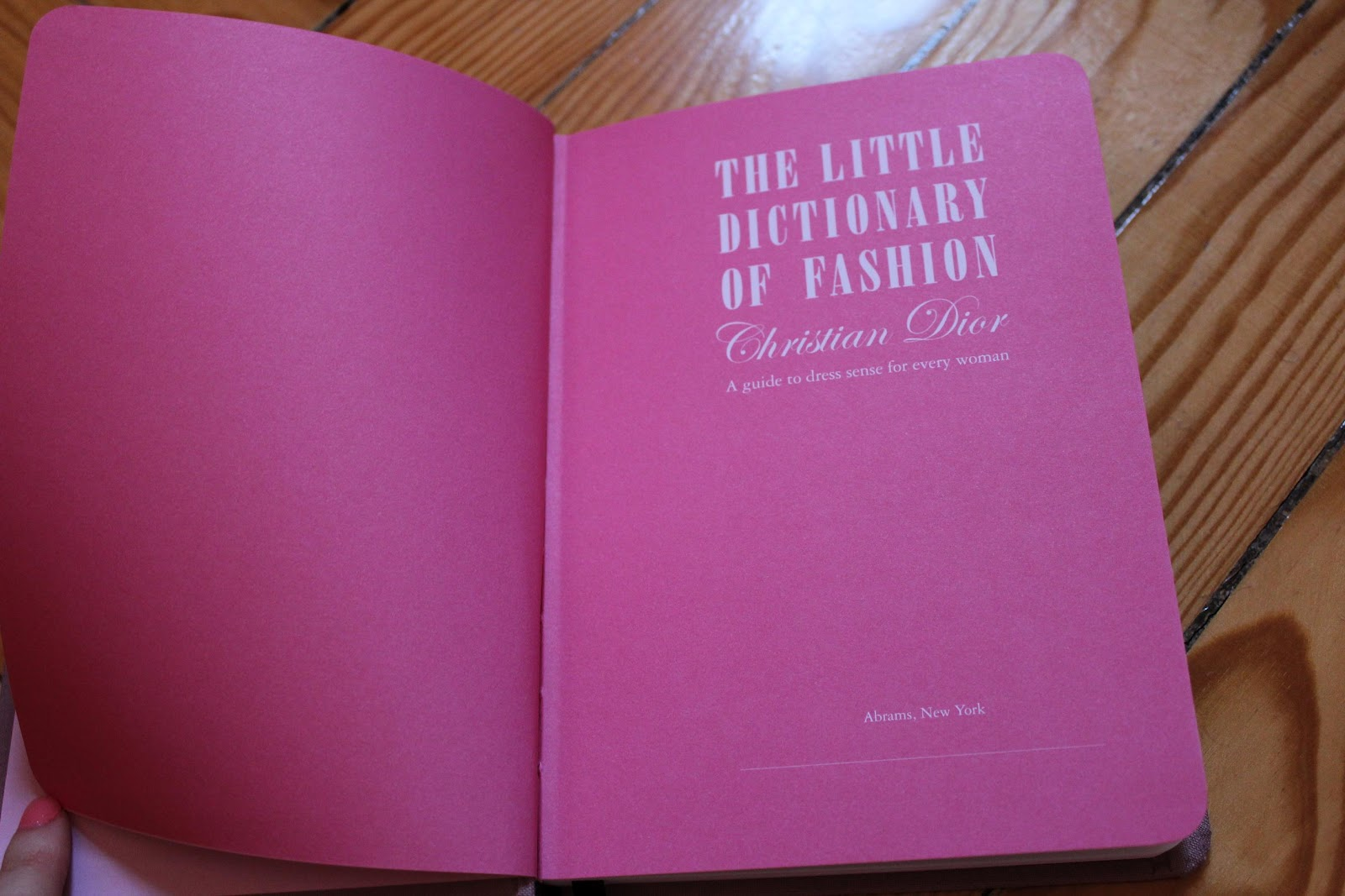 The little dictionary of fashion by christian dior pdf
