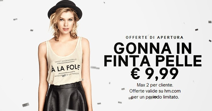 H M Fashion Home Finalmente Lo Shop Online Anche In Italia Vita Su Marte