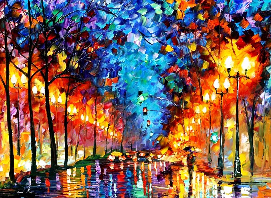 Color Pupila Leonid Afremov