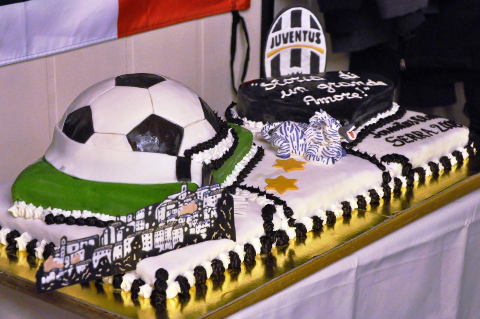 Célèbre Le torte di Fede: Una mega torta juventina. CL35