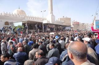 مقتل 4 و100 مصاب نتيجة إطلاق النار على جنازة بورسعيد