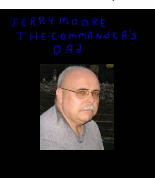 This is BLV clerk Ethel Nemeth's son-in-law Jerry Know-It-All Moore.