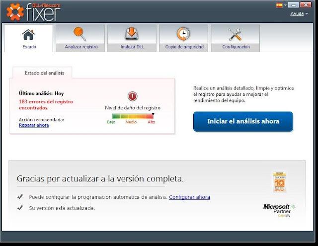DLL Files.com Fixer Versión 3.0.81.2643 Español