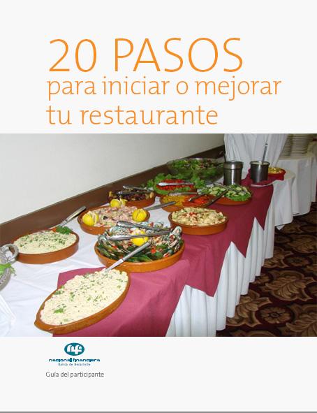 Guía para iniciar o mejorar un Restaurante en 20 Pasos FreeLibros
