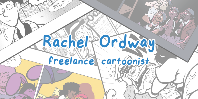 Crackpot Comics - The Portfolio Of Rachel Ordway
