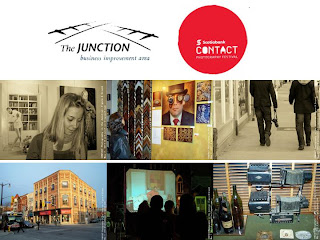 CONTACT 2011 Festival of Photography in the Junction Toronto, photo-collage by artjunction.blogspot.com