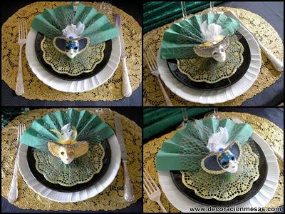decoracion mesa carnaval 2013 servilletas