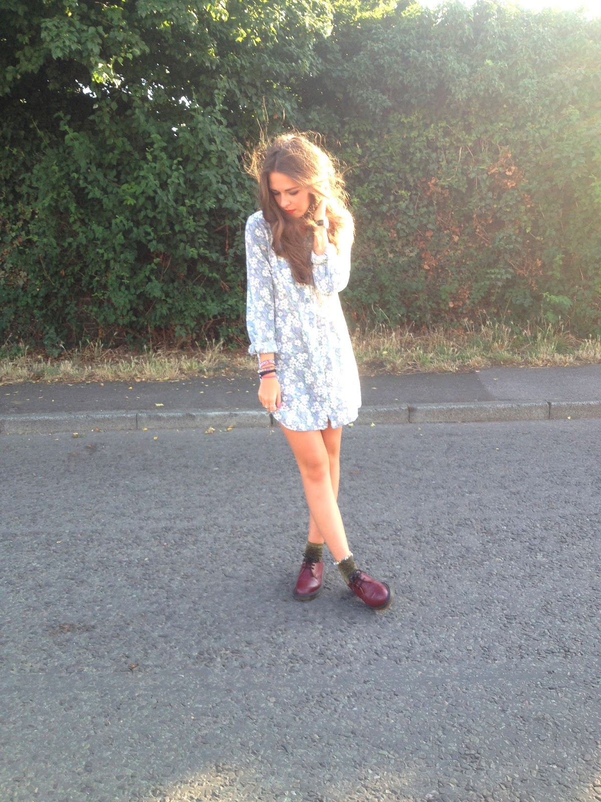 Fashion_blogger_ootd_wearing_topshop_floral_nighty_dress
