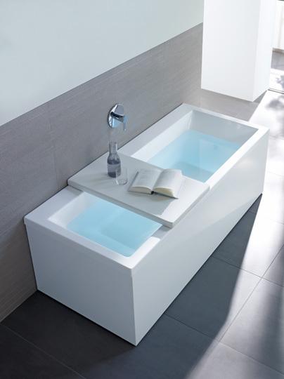 Tinas De Baño Pequenas:Baños: Tina de flotación muy moderna de Duravit